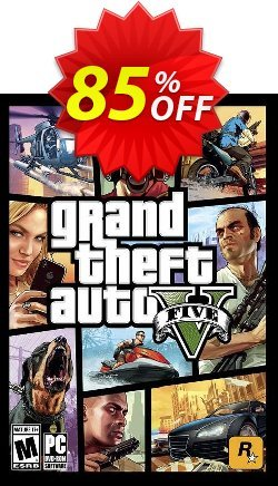 Grand Theft Auto V 5 - GTA 5 PC Coupon discount Grand Theft Auto V 5 (GTA 5) PC Deal - Grand Theft Auto V 5 (GTA 5) PC Exclusive offer for iVoicesoft