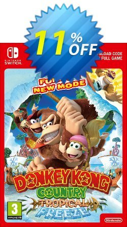 Donkey Kong Country Tropical Freeze Switch Coupon discount Donkey Kong Country Tropical Freeze Switch Deal - Donkey Kong Country Tropical Freeze Switch Exclusive offer for iVoicesoft