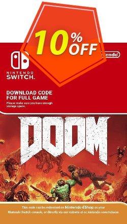 Doom Nintendo Switch Coupon discount Doom Nintendo Switch Deal - Doom Nintendo Switch Exclusive offer for iVoicesoft