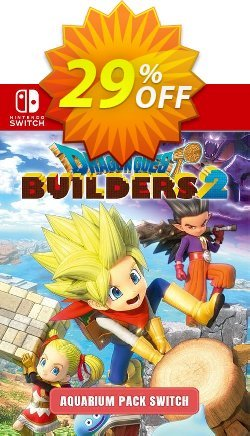 Dragon Quest Builders 2 - Aquarium Pack Switch Coupon discount Dragon Quest Builders 2 - Aquarium Pack Switch Deal - Dragon Quest Builders 2 - Aquarium Pack Switch Exclusive offer for iVoicesoft
