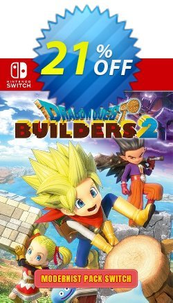 Dragon Quest Builders 2 - Modernist Pack Switch Coupon discount Dragon Quest Builders 2 - Modernist Pack Switch Deal - Dragon Quest Builders 2 - Modernist Pack Switch Exclusive offer for iVoicesoft