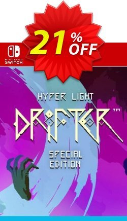 Hyper Light Drifter Switch Coupon discount Hyper Light Drifter Switch Deal - Hyper Light Drifter Switch Exclusive offer for iVoicesoft