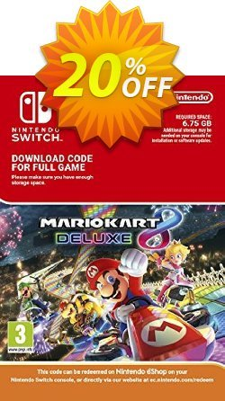 Mario Kart 8 Deluxe Switch Coupon, discount Mario Kart 8 Deluxe Switch Deal. Promotion: Mario Kart 8 Deluxe Switch Exclusive offer for iVoicesoft