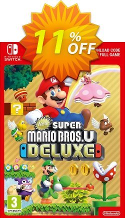 New Super Mario Bros. U Deluxe Switch Coupon discount New Super Mario Bros. U Deluxe Switch Deal - New Super Mario Bros. U Deluxe Switch Exclusive offer for iVoicesoft