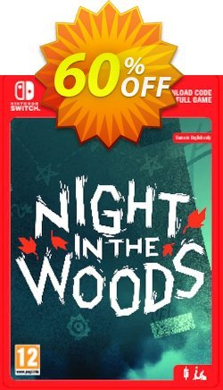 Night in the Woods Switch Coupon discount Night in the Woods Switch Deal - Night in the Woods Switch Exclusive offer for iVoicesoft