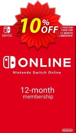 Nintendo Switch Online 12 Month - 365 Day Membership Switch - US  Coupon discount Nintendo Switch Online 12 Month (365 Day) Membership Switch (US) Deal - Nintendo Switch Online 12 Month (365 Day) Membership Switch (US) Exclusive offer for iVoicesoft