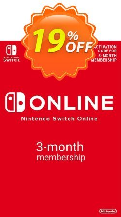 Nintendo Switch Online 3 Month - 90 Day Membership Switch - EU  Coupon discount Nintendo Switch Online 3 Month (90 Day) Membership Switch (EU) Deal - Nintendo Switch Online 3 Month (90 Day) Membership Switch (EU) Exclusive offer for iVoicesoft
