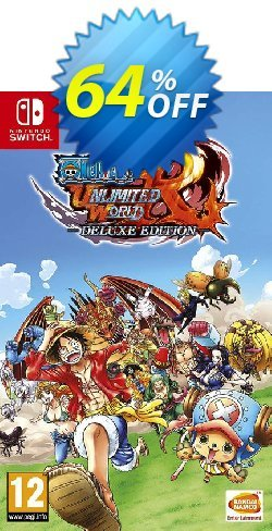 One Piece: Unlimited World Red Deluxe Edition Switch Coupon discount One Piece: Unlimited World Red Deluxe Edition Switch Deal - One Piece: Unlimited World Red Deluxe Edition Switch Exclusive offer for iVoicesoft