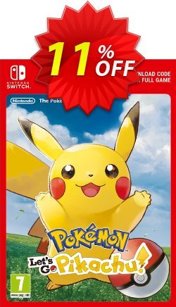 21 Off Pokemon Let S Go Pikachu Switch Coupon Code Nov 2020 Trackedcoupon