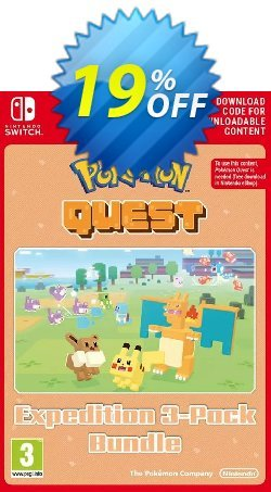 Pokemon Quest - Expedition 3-Pack Bundle Switch Coupon discount Pokemon Quest - Expedition 3-Pack Bundle Switch Deal - Pokemon Quest - Expedition 3-Pack Bundle Switch Exclusive offer for iVoicesoft