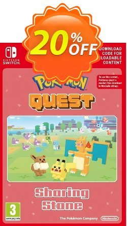 Pokemon Quest - Sharing Stone Switch Coupon, discount Pokemon Quest - Sharing Stone Switch Deal. Promotion: Pokemon Quest - Sharing Stone Switch Exclusive offer for iVoicesoft