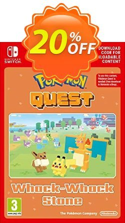 Pokemon Quest - Whack-Whack Stone Switch Coupon, discount Pokemon Quest - Whack-Whack Stone Switch Deal. Promotion: Pokemon Quest - Whack-Whack Stone Switch Exclusive offer for iVoicesoft
