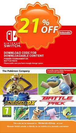 Pokken Tournament DX Battle Pack Switch Coupon discount Pokken Tournament DX Battle Pack Switch Deal - Pokken Tournament DX Battle Pack Switch Exclusive offer for iVoicesoft