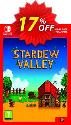 Stardew Valley Switch Coupon discount Stardew Valley Switch Deal. Promotion: Stardew Valley Switch Exclusive offer for iVoicesoft