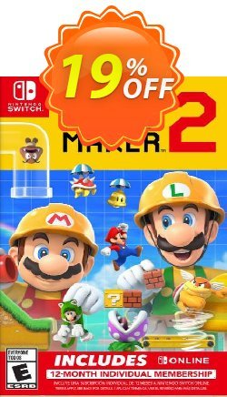Super Mario Maker 2 + 12 Month Membership Switch Coupon discount Super Mario Maker 2 + 12 Month Membership Switch Deal. Promotion: Super Mario Maker 2 + 12 Month Membership Switch Exclusive offer for iVoicesoft