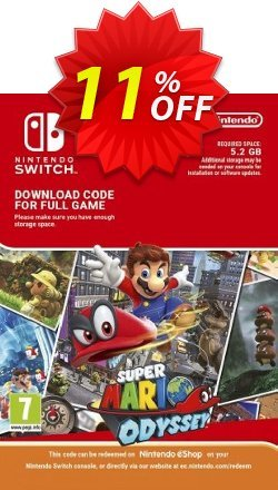 Super Mario Odyssey Switch Coupon, discount Super Mario Odyssey Switch Deal. Promotion: Super Mario Odyssey Switch Exclusive offer for iVoicesoft