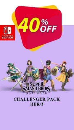 Super Smash Bros Ultimate - Hero Challenger Pack Switch Coupon discount Super Smash Bros Ultimate - Hero Challenger Pack Switch Deal - Super Smash Bros Ultimate - Hero Challenger Pack Switch Exclusive offer for iVoicesoft