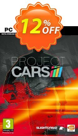 Project CARS PC Coupon discount Project CARS PC Deal - Project CARS PC Exclusive offer for iVoicesoft