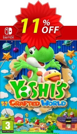 Yoshi's Crafted World Switch Coupon discount Yoshi's Crafted World Switch Deal - Yoshi's Crafted World Switch Exclusive offer for iVoicesoft