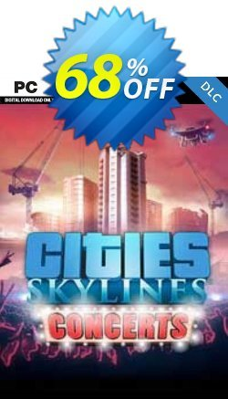 Cities Skylines - Concerts DLC Coupon discount Cities Skylines - Concerts DLC Deal - Cities Skylines - Concerts DLC Exclusive offer for iVoicesoft