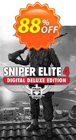 Sniper Elite 4 Deluxe Edition PC Coupon discount Sniper Elite 4 Deluxe Edition PC Deal - Sniper Elite 4 Deluxe Edition PC Exclusive offer for iVoicesoft