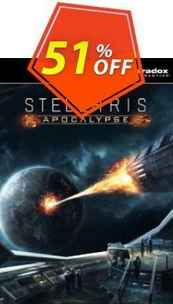 Stellaris: Apocalypse PC DLC Coupon discount Stellaris: Apocalypse PC DLC Deal - Stellaris: Apocalypse PC DLC Exclusive offer for iVoicesoft