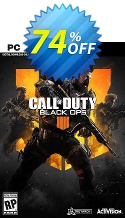 Call of Duty - COD Black Ops 4 PC - MEA  Coupon discount Call of Duty (COD) Black Ops 4 PC (MEA) Deal - Call of Duty (COD) Black Ops 4 PC (MEA) Exclusive offer for iVoicesoft