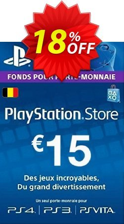 PlayStation Network - PSN Card - 15 EUR - Belgium  Coupon discount PlayStation Network (PSN) Card - 15 EUR (Belgium) Deal - PlayStation Network (PSN) Card - 15 EUR (Belgium) Exclusive offer for iVoicesoft