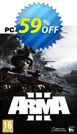 Arma 3 PC Coupon discount Arma 3 PC Deal. Promotion: Arma 3 PC Exclusive offer for iVoicesoft
