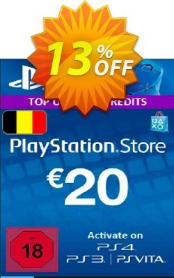 PlayStation Network - PSN Card - 20 EUR - Belgium  Coupon discount PlayStation Network (PSN) Card - 20 EUR (Belgium) Deal - PlayStation Network (PSN) Card - 20 EUR (Belgium) Exclusive offer for iVoicesoft