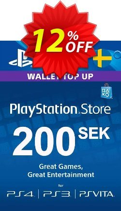 Playstation Network - PSN Card 200 SEK - Sweden  Coupon discount Playstation Network (PSN) Card 200 SEK (Sweden) Deal - Playstation Network (PSN) Card 200 SEK (Sweden) Exclusive offer for iVoicesoft