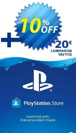 Playstation Network - PSN Card 20 EUR - Finland  Coupon discount Playstation Network (PSN) Card 20 EUR (Finland) Deal - Playstation Network (PSN) Card 20 EUR (Finland) Exclusive offer for iVoicesoft