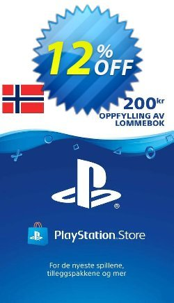 Playstation Network - PSN Card 200 NOK - Norway  Coupon discount Playstation Network (PSN) Card 200 NOK (Norway) Deal. Promotion: Playstation Network (PSN) Card 200 NOK (Norway) Exclusive offer for iVoicesoft