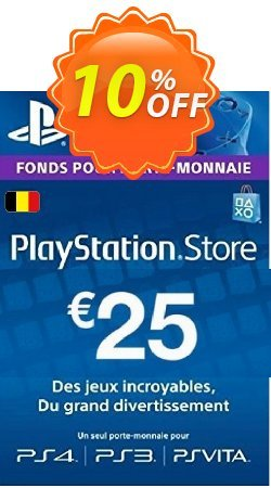 PlayStation Network - PSN Card - 25 EUR - Belgium  Coupon discount PlayStation Network (PSN) Card - 25 EUR (Belgium) Deal - PlayStation Network (PSN) Card - 25 EUR (Belgium) Exclusive offer for iVoicesoft
