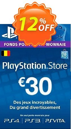 PlayStation Network - PSN Card - 30 EUR - Belgium  Coupon discount PlayStation Network (PSN) Card - 30 EUR (Belgium) Deal - PlayStation Network (PSN) Card - 30 EUR (Belgium) Exclusive offer for iVoicesoft
