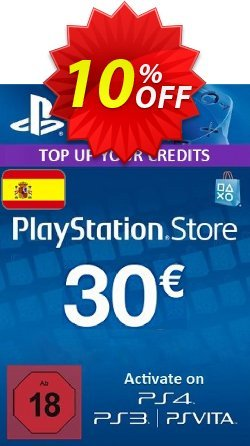 PlayStation Network - PSN Card - 30 EUR - Spain  Coupon discount PlayStation Network (PSN) Card - 30 EUR (Spain) Deal - PlayStation Network (PSN) Card - 30 EUR (Spain) Exclusive offer for iVoicesoft