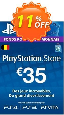 PlayStation Network - PSN Card - 35 EUR - Belgium  Coupon discount PlayStation Network (PSN) Card - 35 EUR (Belgium) Deal - PlayStation Network (PSN) Card - 35 EUR (Belgium) Exclusive offer for iVoicesoft