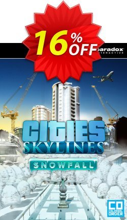 Cities: Skylines Snowfall PC Coupon discount Cities: Skylines Snowfall PC Deal. Promotion: Cities: Skylines Snowfall PC Exclusive offer for iVoicesoft