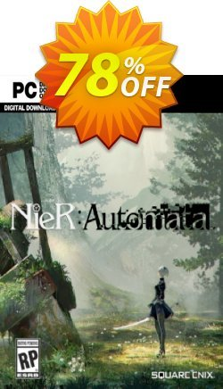 NieR Automata PC Coupon, discount NieR Automata PC Deal. Promotion: NieR Automata PC Exclusive offer for iVoicesoft