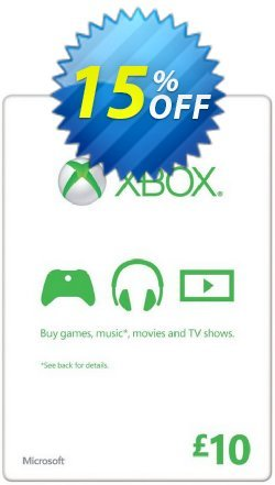 Microsoft Gift Card - £10 - Xbox One/360  Coupon discount Microsoft Gift Card - £10 (Xbox One/360) Deal - Microsoft Gift Card - £10 (Xbox One/360) Exclusive offer for iVoicesoft