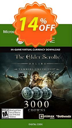 The Elder Scrolls Online Tamriel Unlimited 3000 Crowns Xbox One - Digital Code Coupon discount The Elder Scrolls Online Tamriel Unlimited 3000 Crowns Xbox One - Digital Code Deal - The Elder Scrolls Online Tamriel Unlimited 3000 Crowns Xbox One - Digital Code Exclusive offer for iVoicesoft