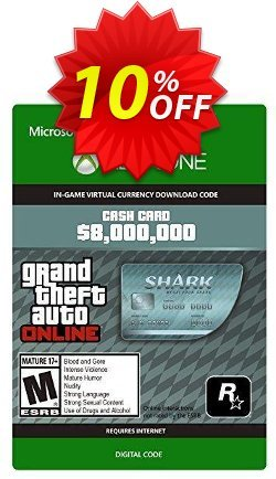 GTA V 5 Megalodon Shark Cash Card - Xbox One Digital Code Coupon, discount GTA V 5 Megalodon Shark Cash Card - Xbox One Digital Code Deal. Promotion: GTA V 5 Megalodon Shark Cash Card - Xbox One Digital Code Exclusive offer for iVoicesoft