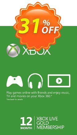 12 Month Xbox Live Gold Membership BRAZIL Coupon discount 12 Month Xbox Live Gold Membership BRAZIL Deal - 12 Month Xbox Live Gold Membership BRAZIL Exclusive offer for iVoicesoft
