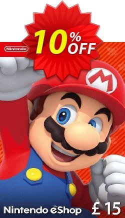 Nintendo eShop £15 card Nintendo 3DS/DS/Wii/Wii U Coupon discount Nintendo eShop £15 card Nintendo 3DS/DS/Wii/Wii U Deal. Promotion: Nintendo eShop £15 card Nintendo 3DS/DS/Wii/Wii U Exclusive offer for iVoicesoft