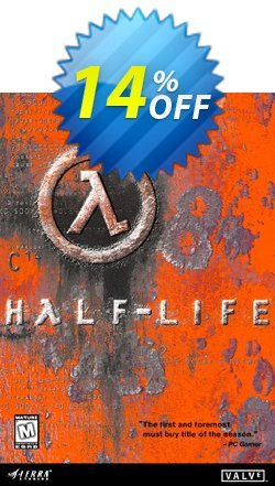 Half Life PC Coupon discount Half Life PC Deal. Promotion: Half Life PC Exclusive offer for iVoicesoft