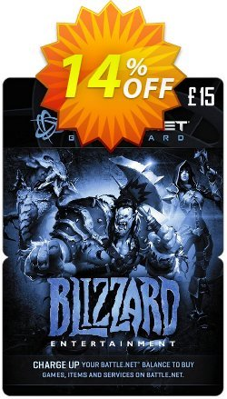 Battlenet 15 GBP Gift Card Coupon discount Battlenet 15 GBP Gift Card Deal. Promotion: Battlenet 15 GBP Gift Card Exclusive offer for iVoicesoft