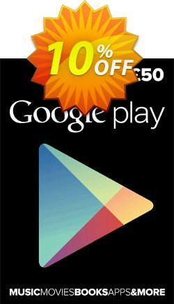 Google Play Gift Card £50 GBP Coupon, discount Google Play Gift Card £50 GBP Deal. Promotion: Google Play Gift Card £50 GBP Exclusive offer for iVoicesoft
