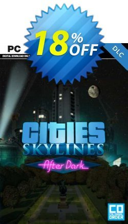 Cities: Skylines After Dark PC Coupon discount Cities: Skylines After Dark PC Deal - Cities: Skylines After Dark PC Exclusive offer for iVoicesoft