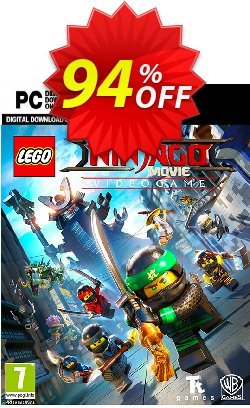 The Lego Ninjago Movie Video Game PC Coupon discount The Lego Ninjago Movie Video Game PC Deal - The Lego Ninjago Movie Video Game PC Exclusive offer for iVoicesoft