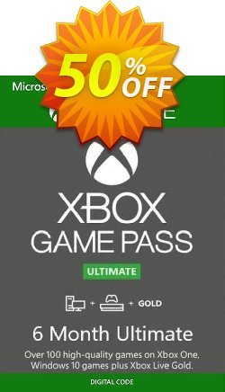 6 Month Xbox Game Pass Ultimate Xbox One / PC BRAZIL Coupon discount 6 Month Xbox Game Pass Ultimate Xbox One / PC BRAZIL Deal - 6 Month Xbox Game Pass Ultimate Xbox One / PC BRAZIL Exclusive offer for iVoicesoft